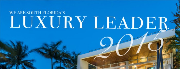 """luxury leader 2015"" banner for EMW Realty International"