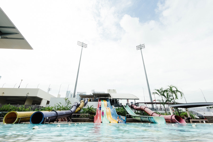 Water park at one of South Florida's best parks.