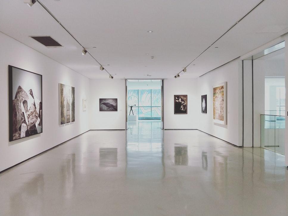 A modern art museum.