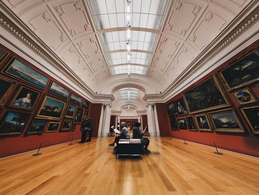 An art museum.