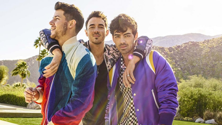 The Jonas Brothers, this year's headliner for Fontainebleau Miami Beach's New Year's Eve event.