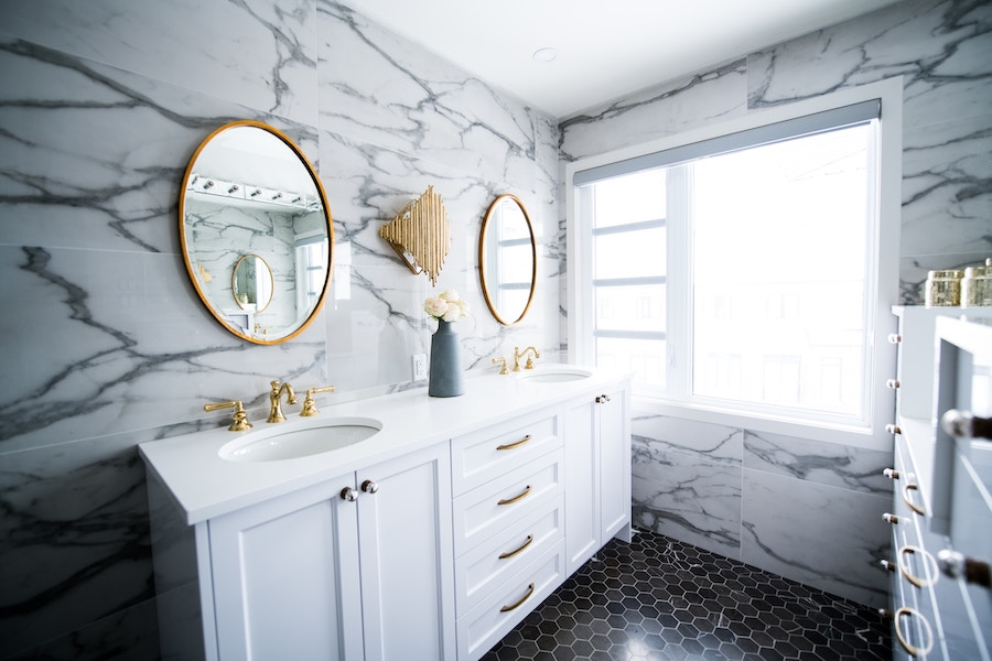 Bathroom renovation, one of the bigger budget projects